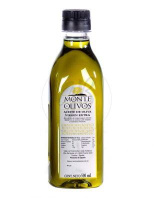 Aceite Monte Olivos Pet 500 ml.