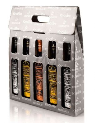 Estuche de regalo Premium Hispasur (5 x 250 ml.)